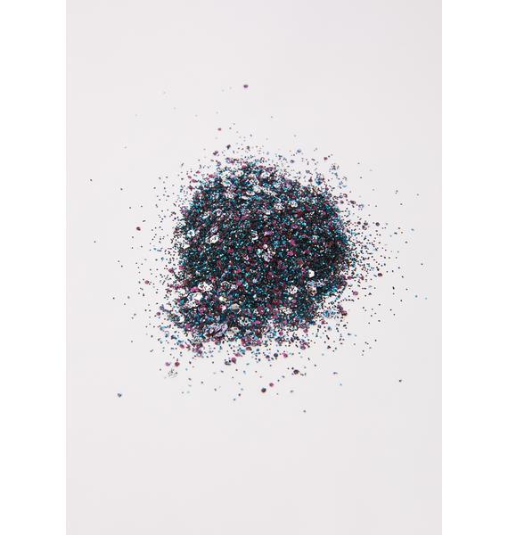 A Beautiful Weirdo Oil Slick Eco Glitter