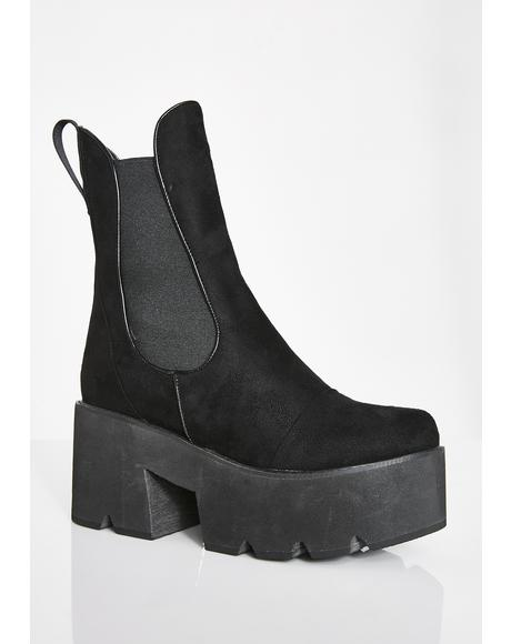 It's Goin' Down Platform Boots