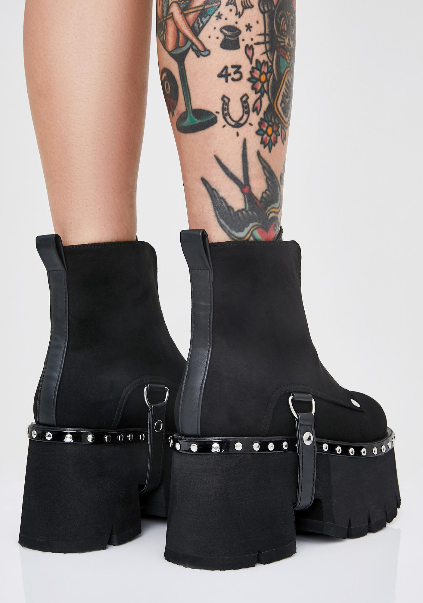 Demonia Shady Stomping Groundz Platform Booties