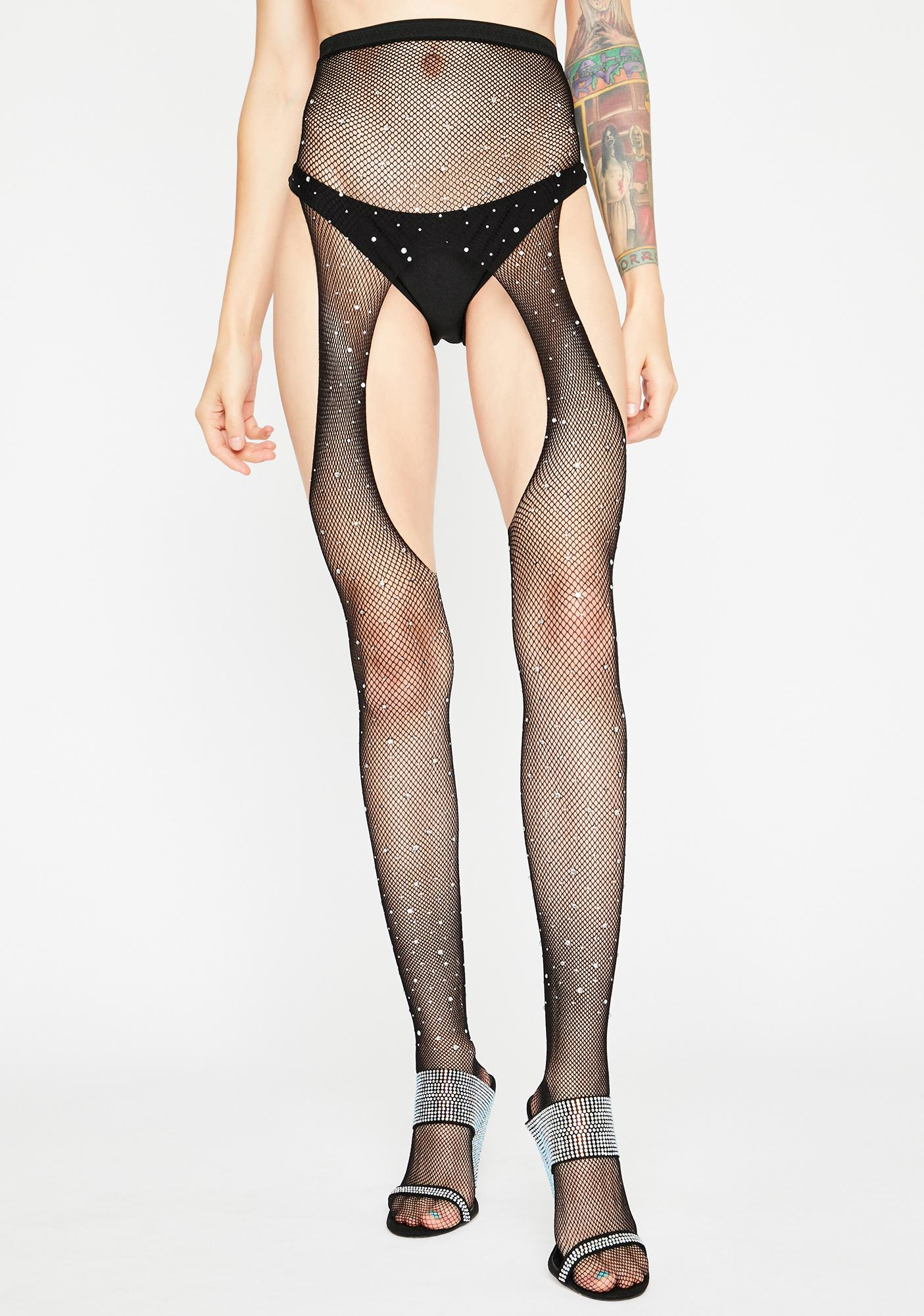 Sparkle Bliss Fishnet Tights
