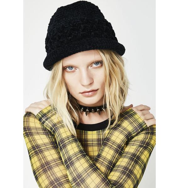 Dark Club Kid Knit Hat