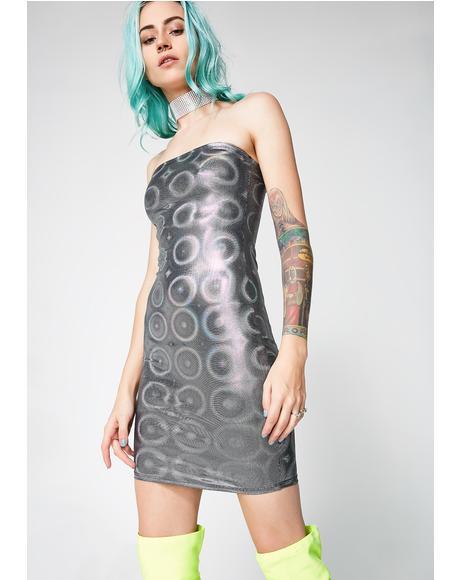 Deep Space Mini Dress