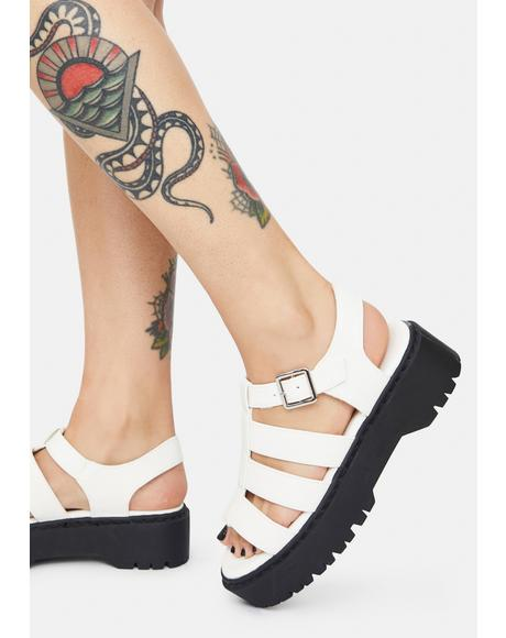 Right Place Right Time Gladiator Sandals
