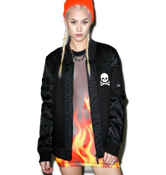 Iron Fist Engineered Print Bomber Jacket
