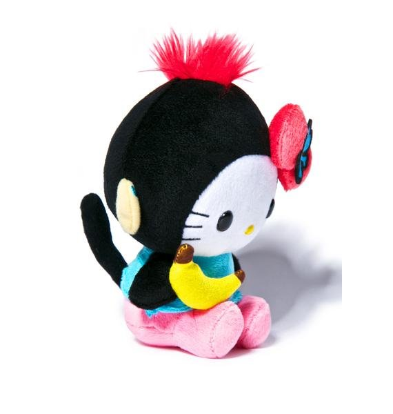 Sanrio Tokidoki X Hello Kitty Summer Safari Monkey Kitty Plush