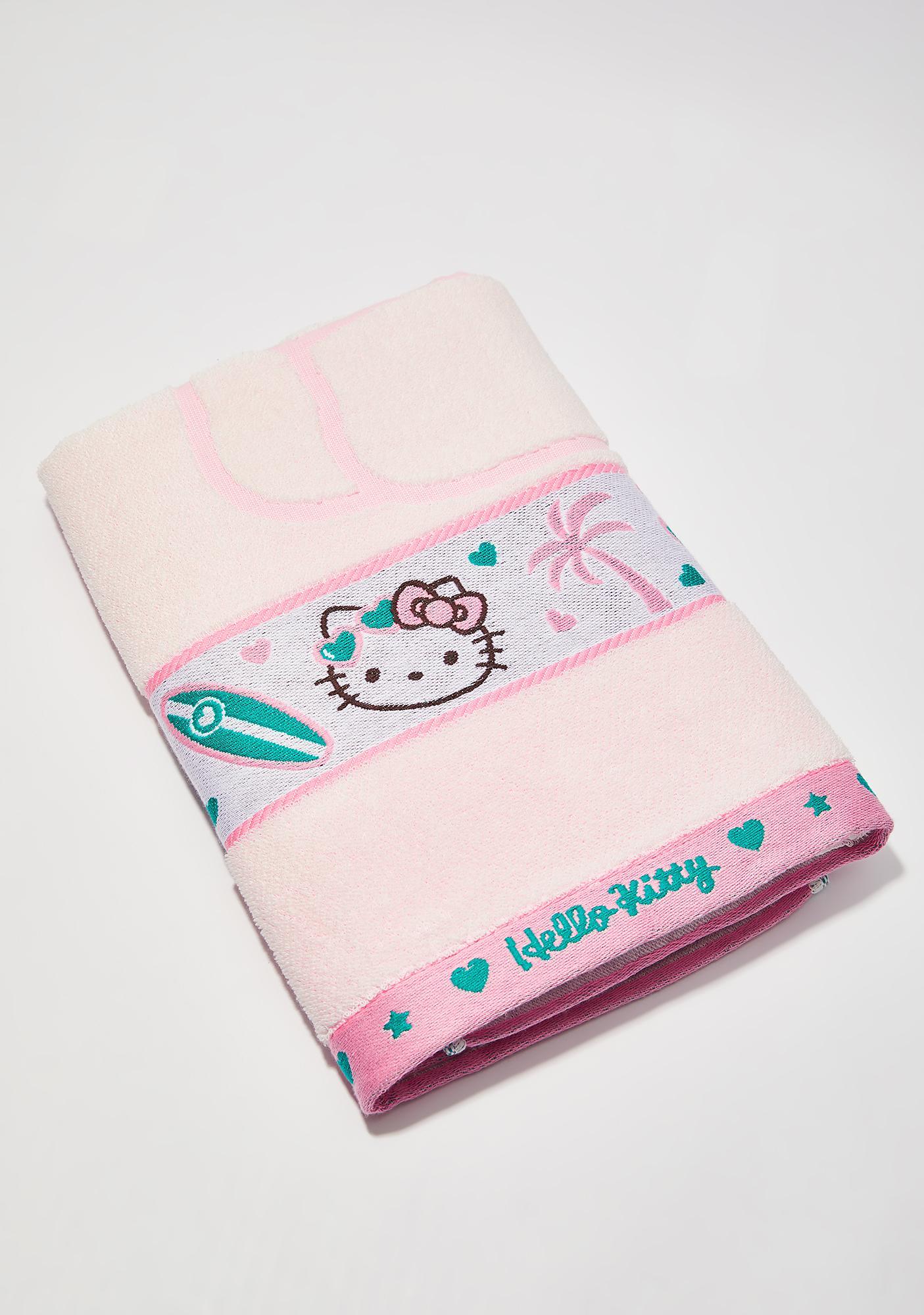 Sanrio Pink Beach Towel