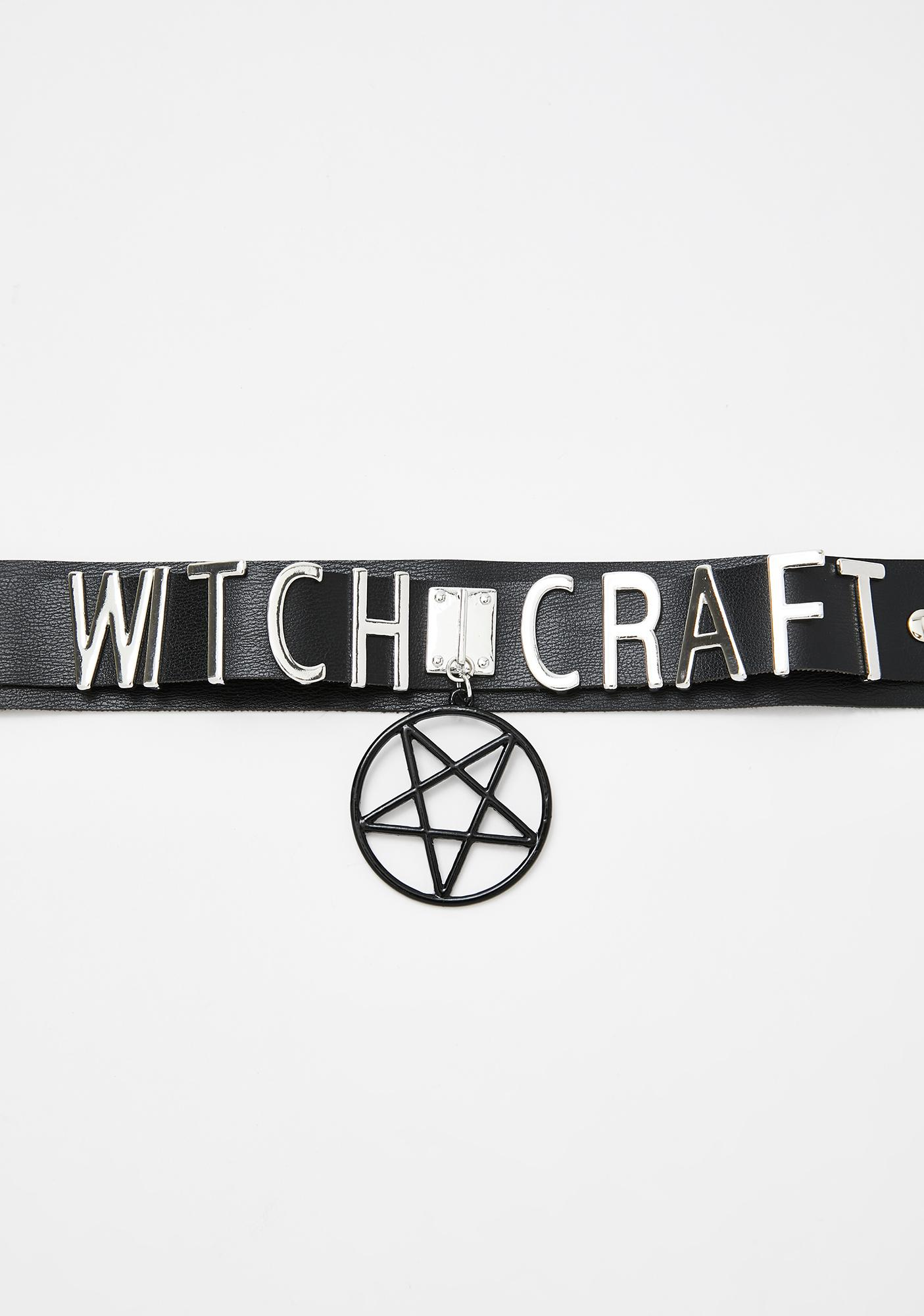 Witch Doctor Pentagram Choker