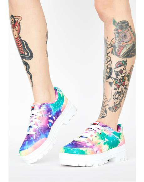 Theme Low Tie Dye Sneakers