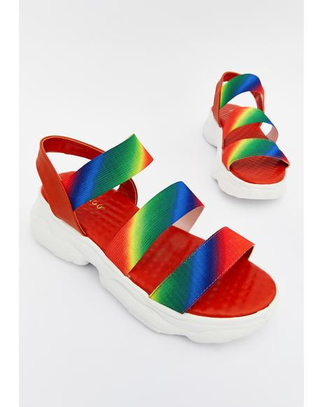 Prism Joy Jumpin' Platform Sandals
