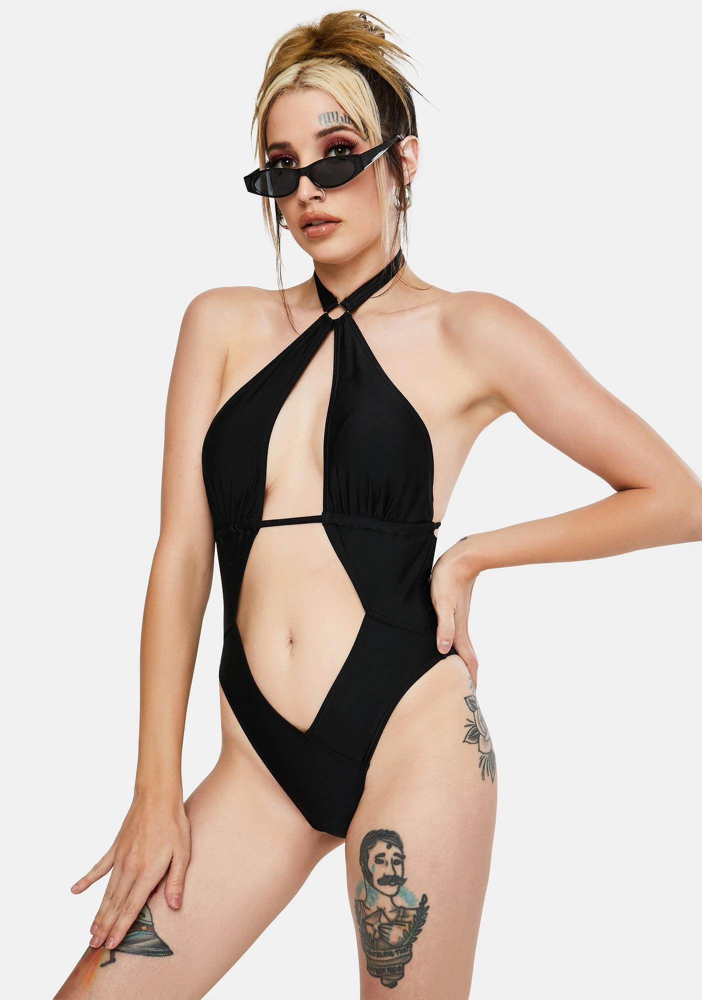 Current Mood Programmed To Kill One Piece Swimsuit