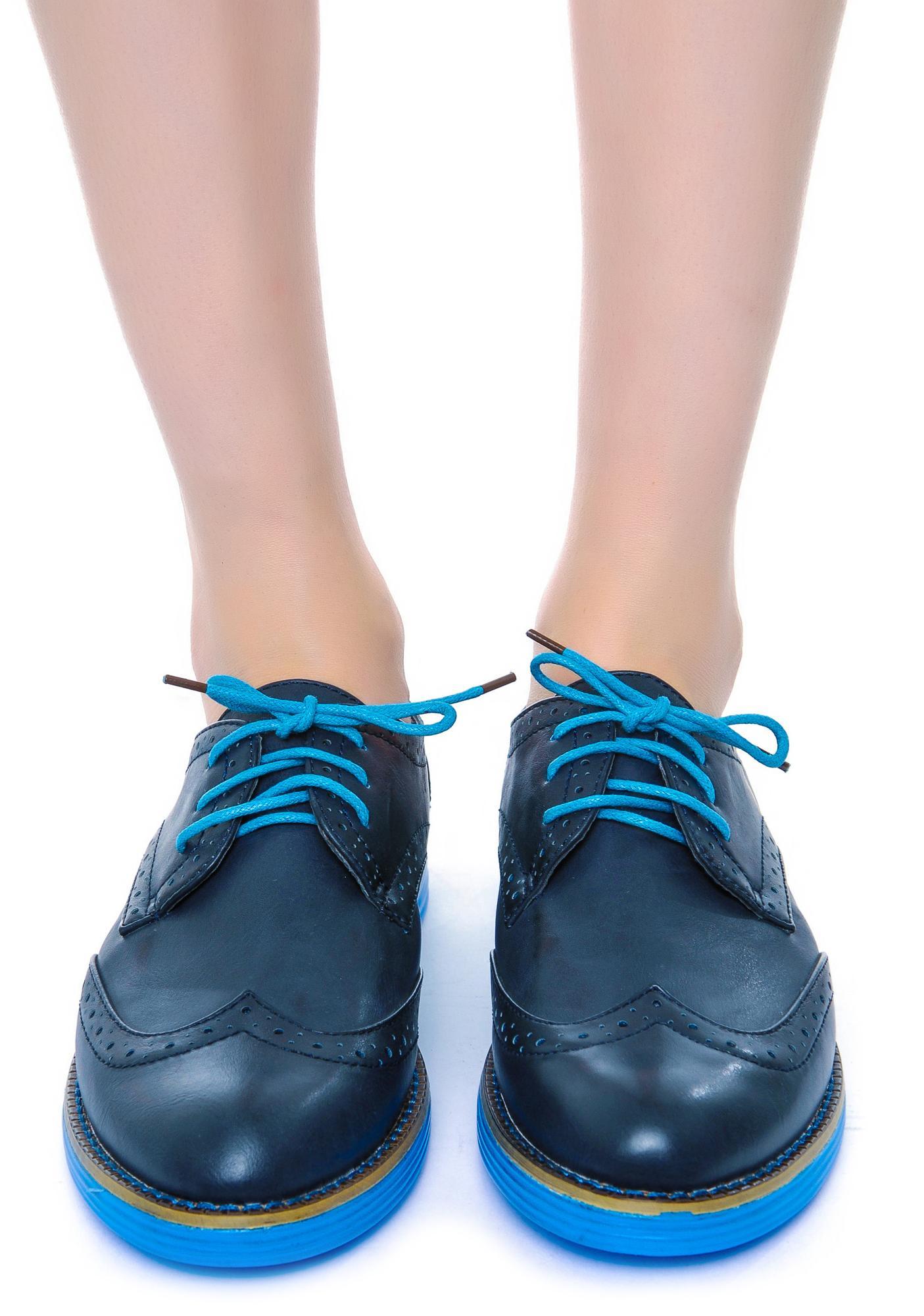 Buckeye Oxford Shoes