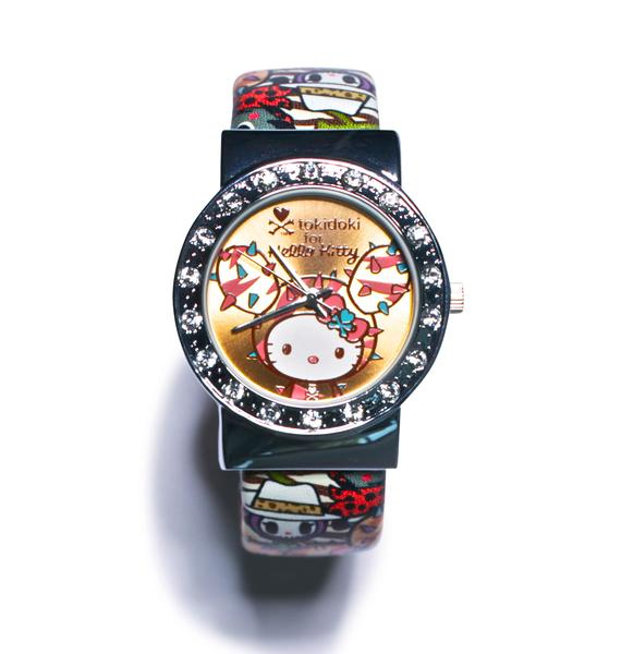 Sanrio Tokidoki X Hello Kitty Summer Safari Wrist Watch
