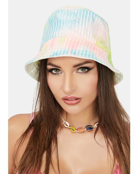 Candy Tie Dye Midsummer Bucket Hat