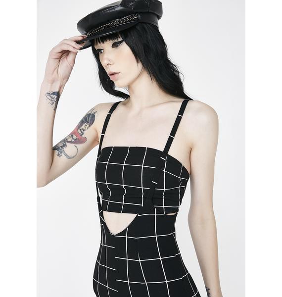 Gridlock Skinny Jumpsuit