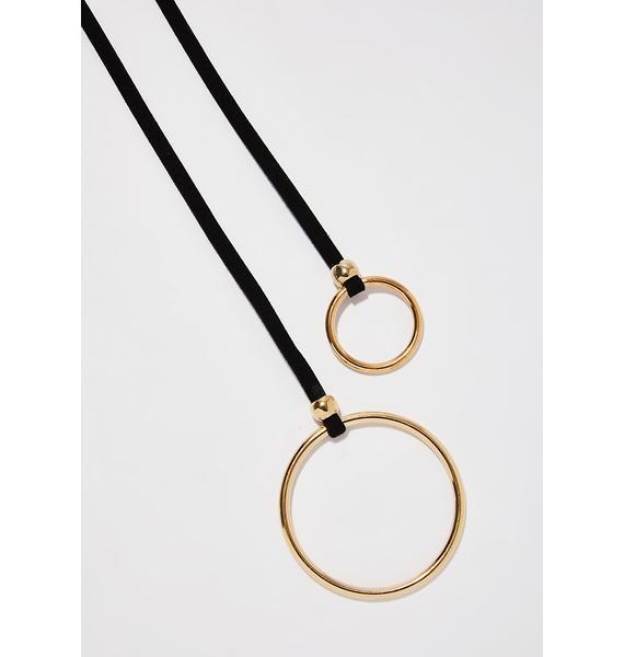 Night Seekin' Peace O-Ring Belt
