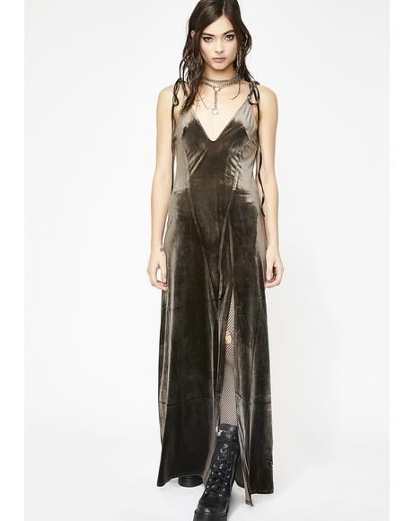 So Swanky Maxi Dress
