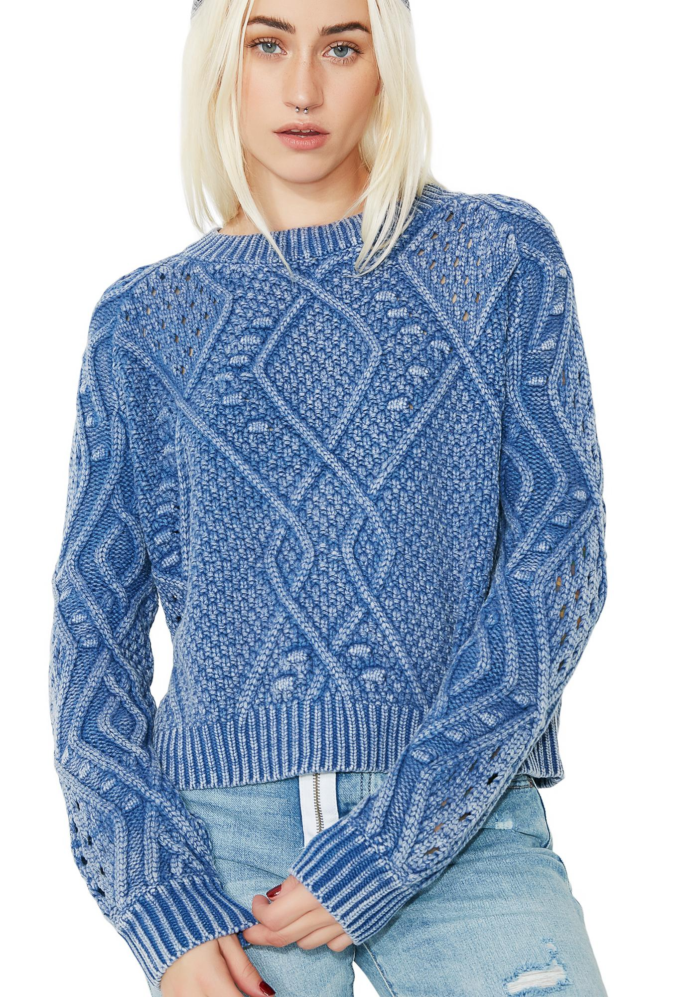 Chill Pill Knit Sweater