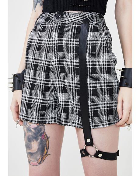 Suspense Plaid Shorts