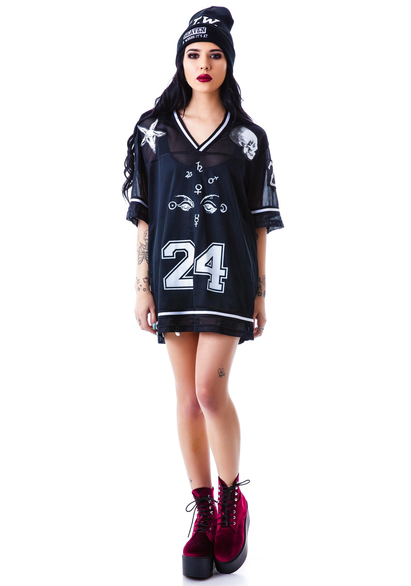 24HRS Mesh Hockey Jersey
