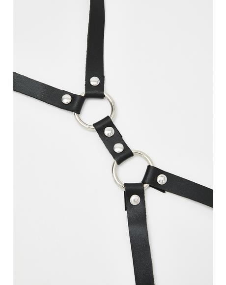 Glorified Grunge Leg Harness