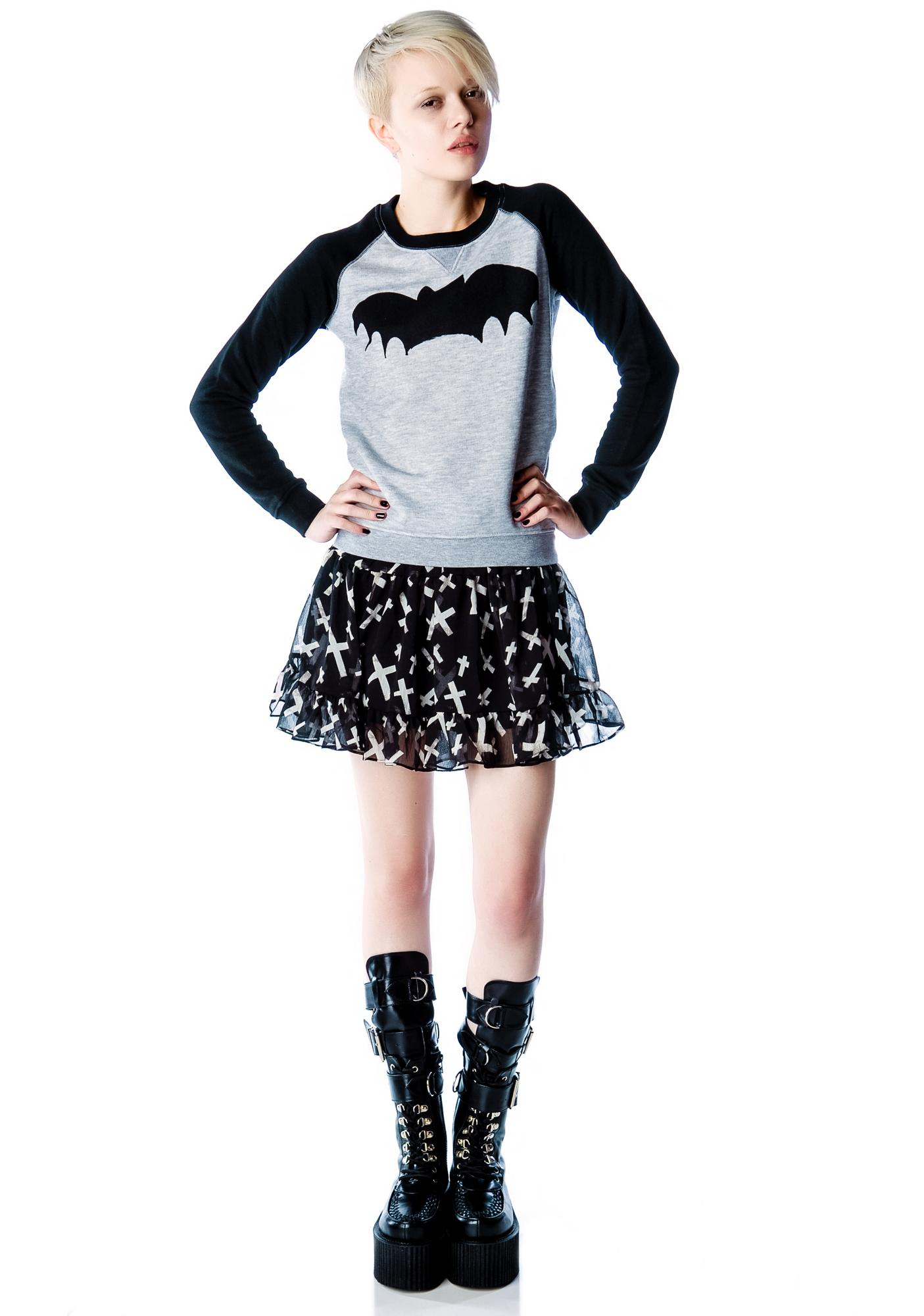 Zoe Karssen Bat Raglan Sweater