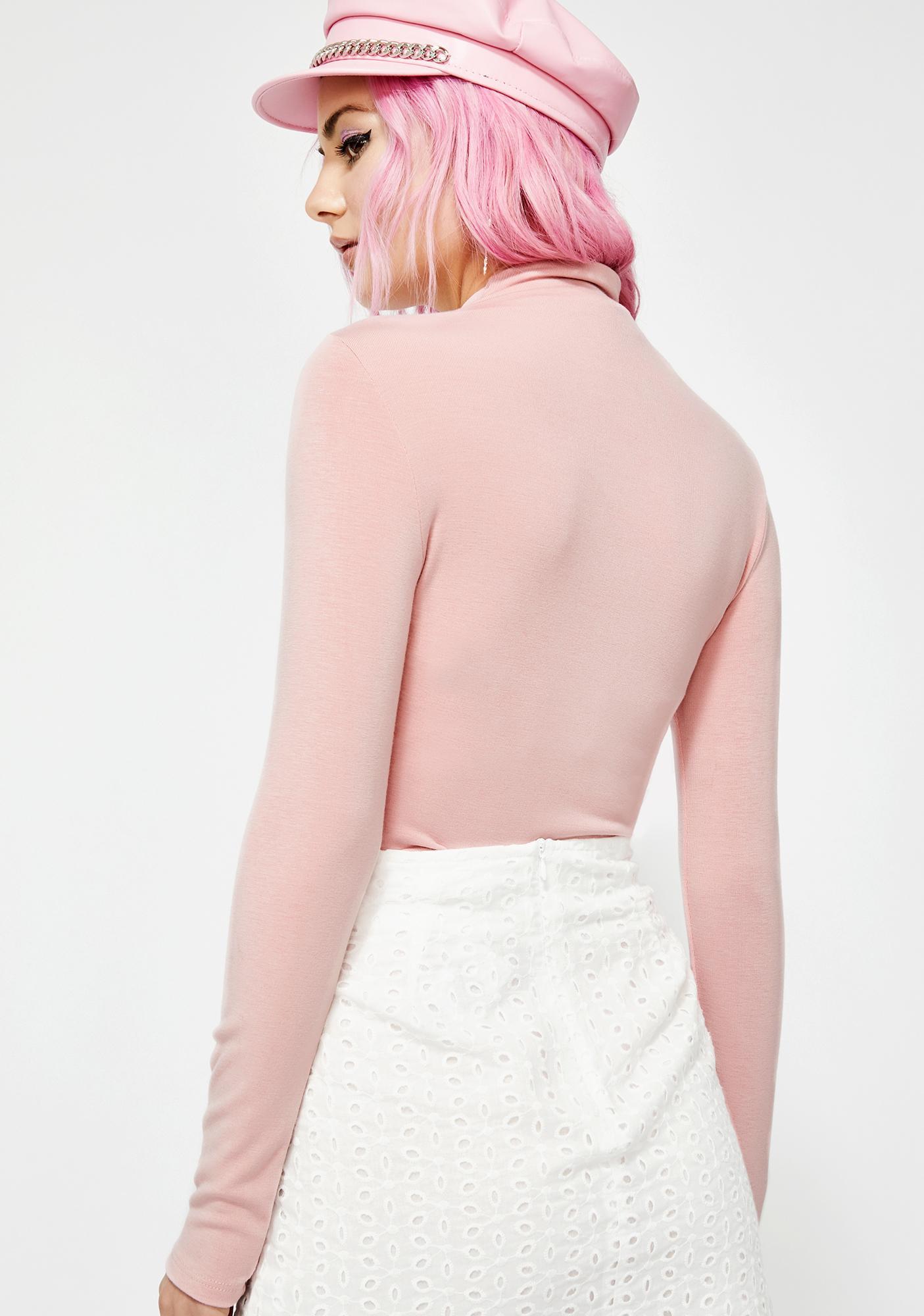 Complex Heart Knit Bodysuit