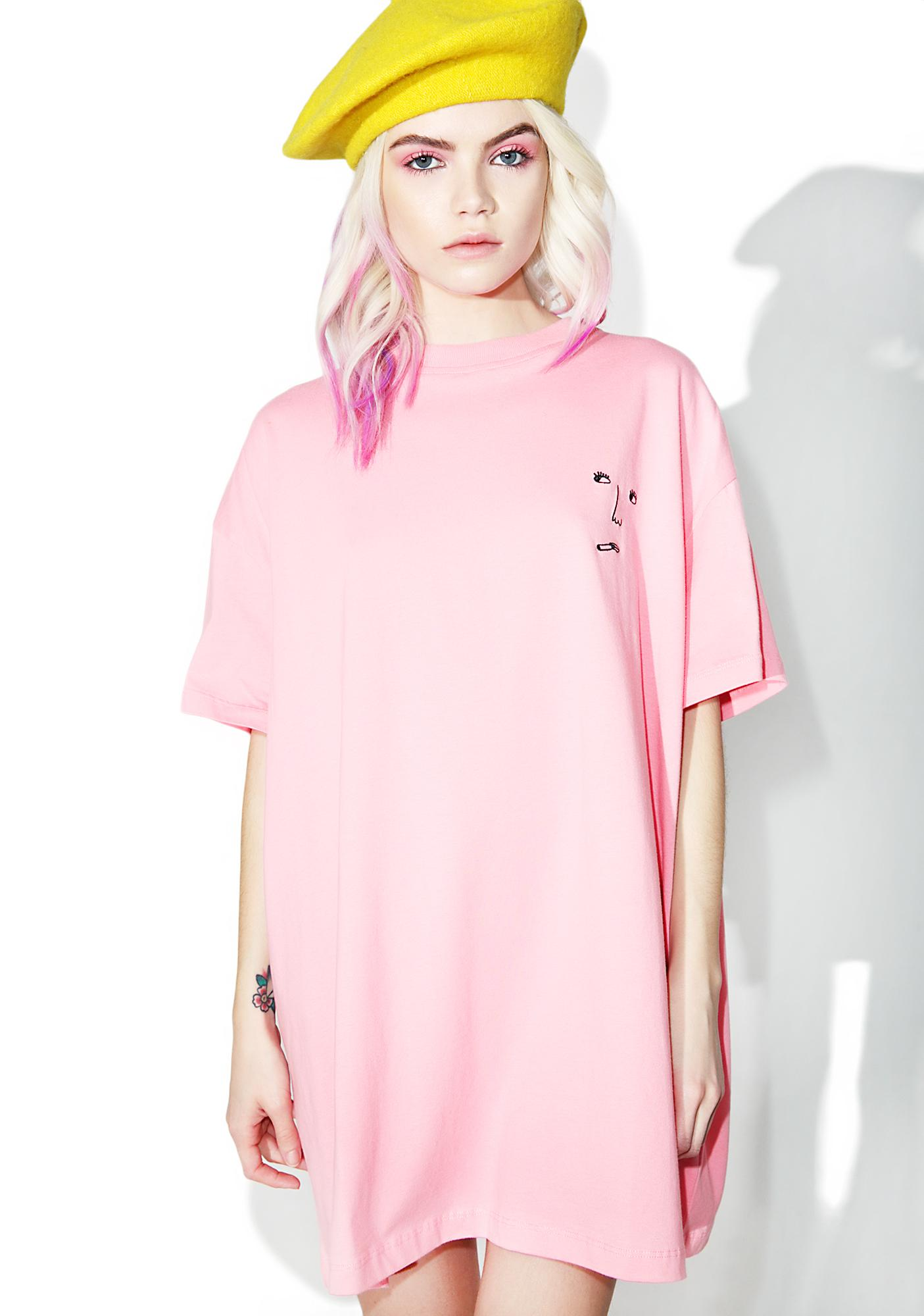Lazy Oaf Smoke Face Tee