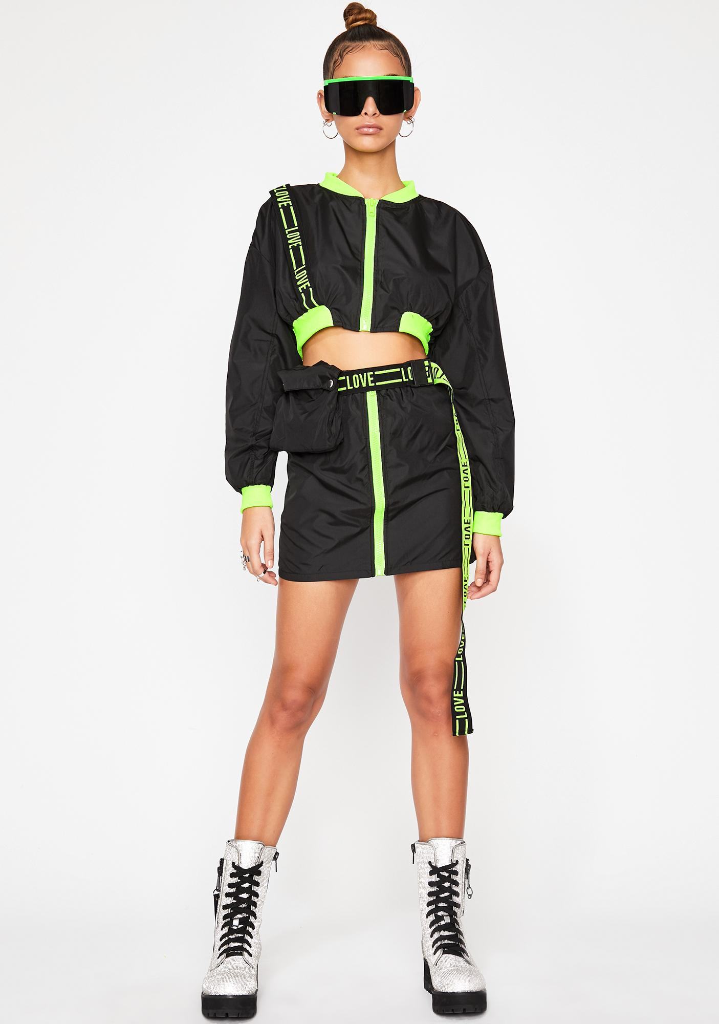 Rave Zone Skirt Set