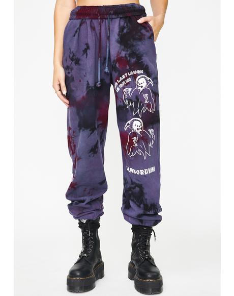 Last Laugh Tie Dye Sweatpants