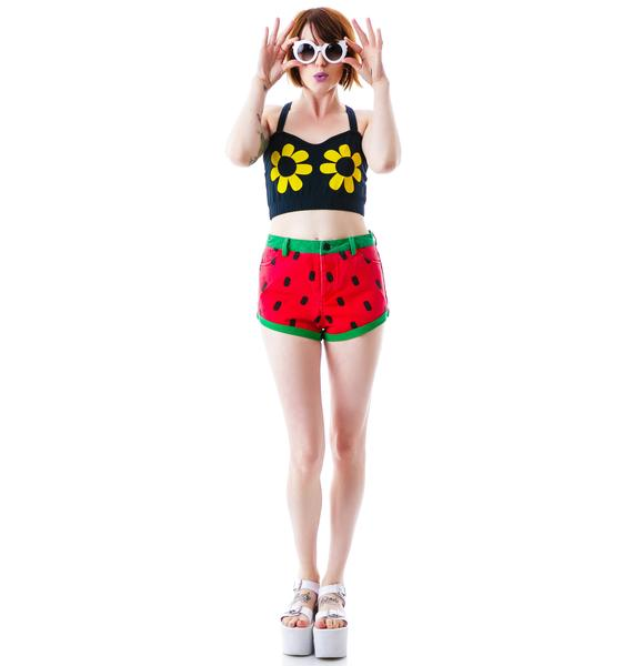 Lazy Oaf Strawberry Shortcake Shorties