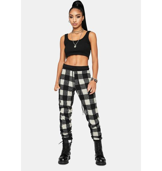 Pure Plaid To Meet You Lounge Pants