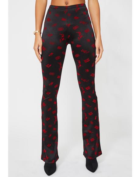 Jeva Slim Trousers