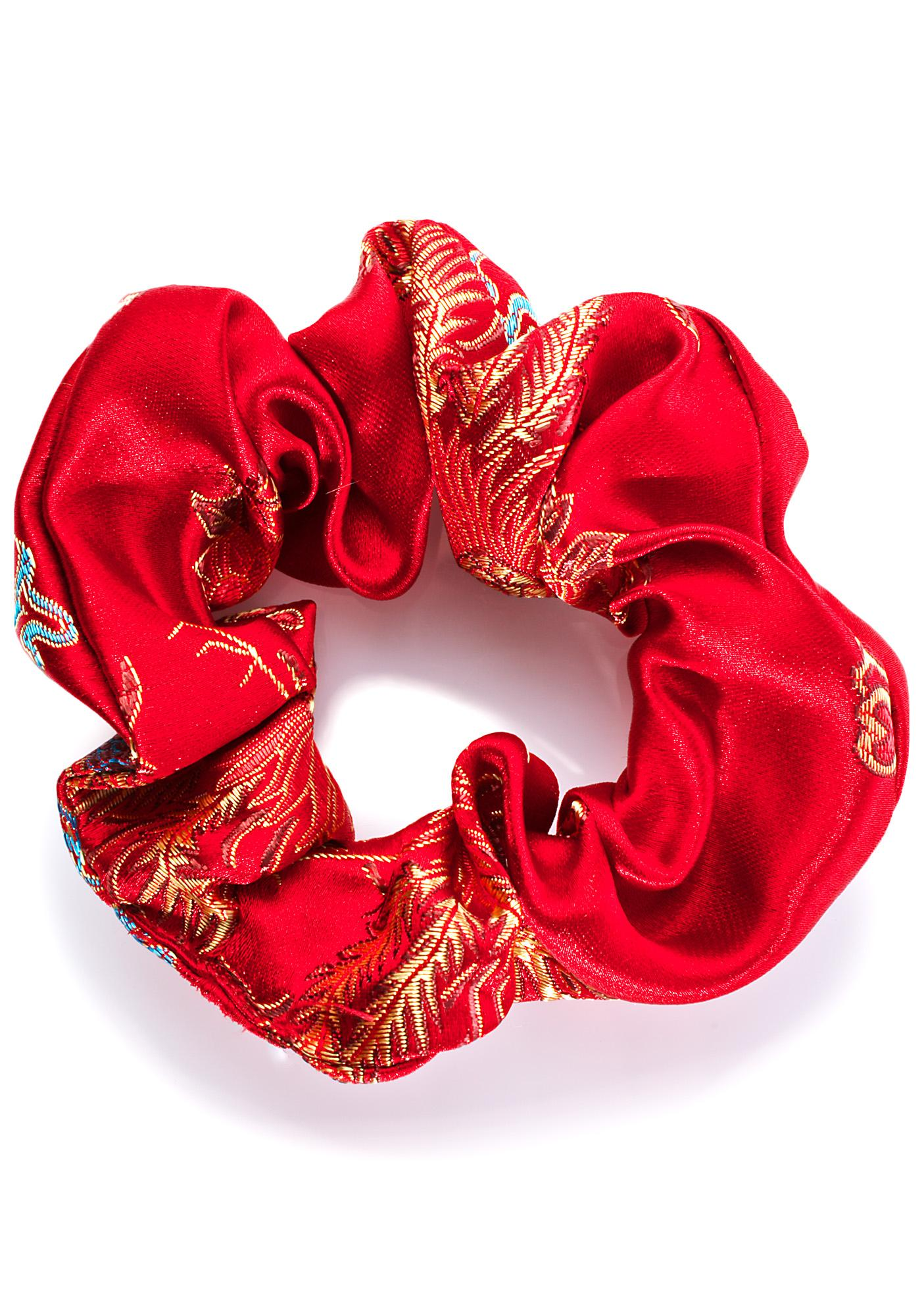 Fraiser Sterling Lucky Scrunchie