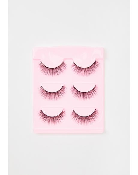 Pinkfetti False Eyelashes