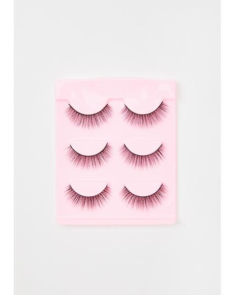Pinkfetti False Eyelashes