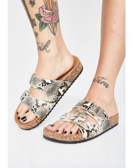 Vile Sandy Paradise Buckle Sandals
