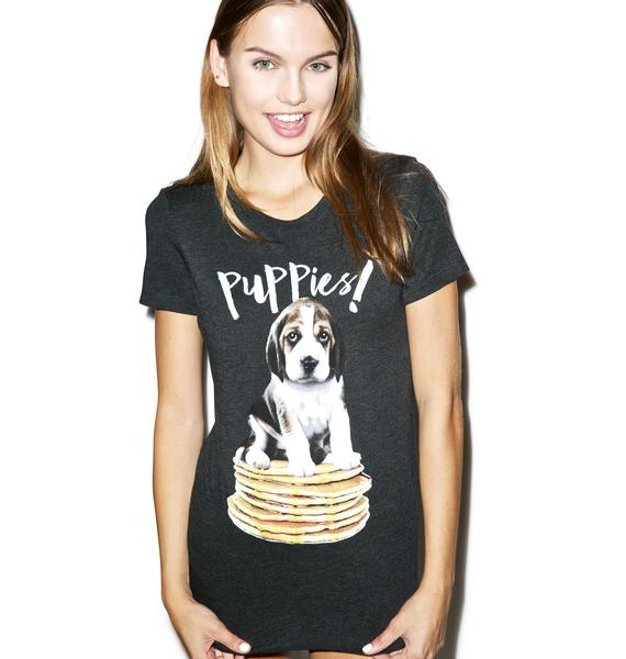 Puppies Make Me Happy Pupcakes Tee