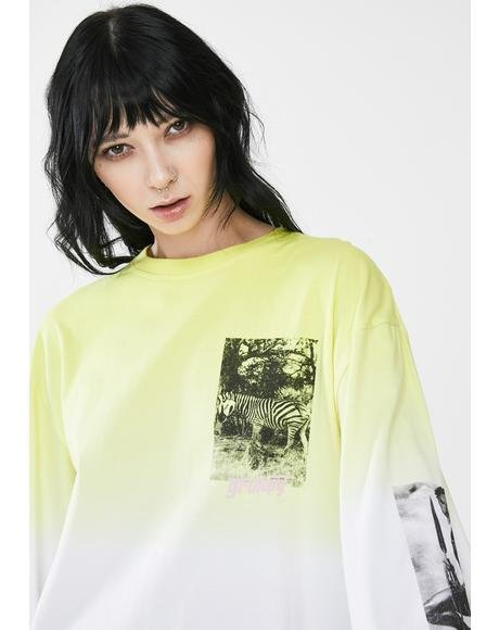 Yanga Long Sleeve Graphic Tee