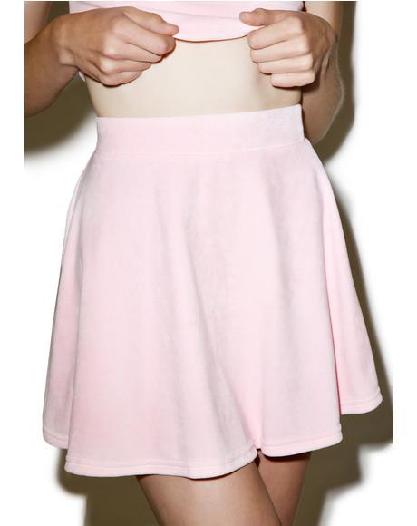 Kitten Velvet Skirt