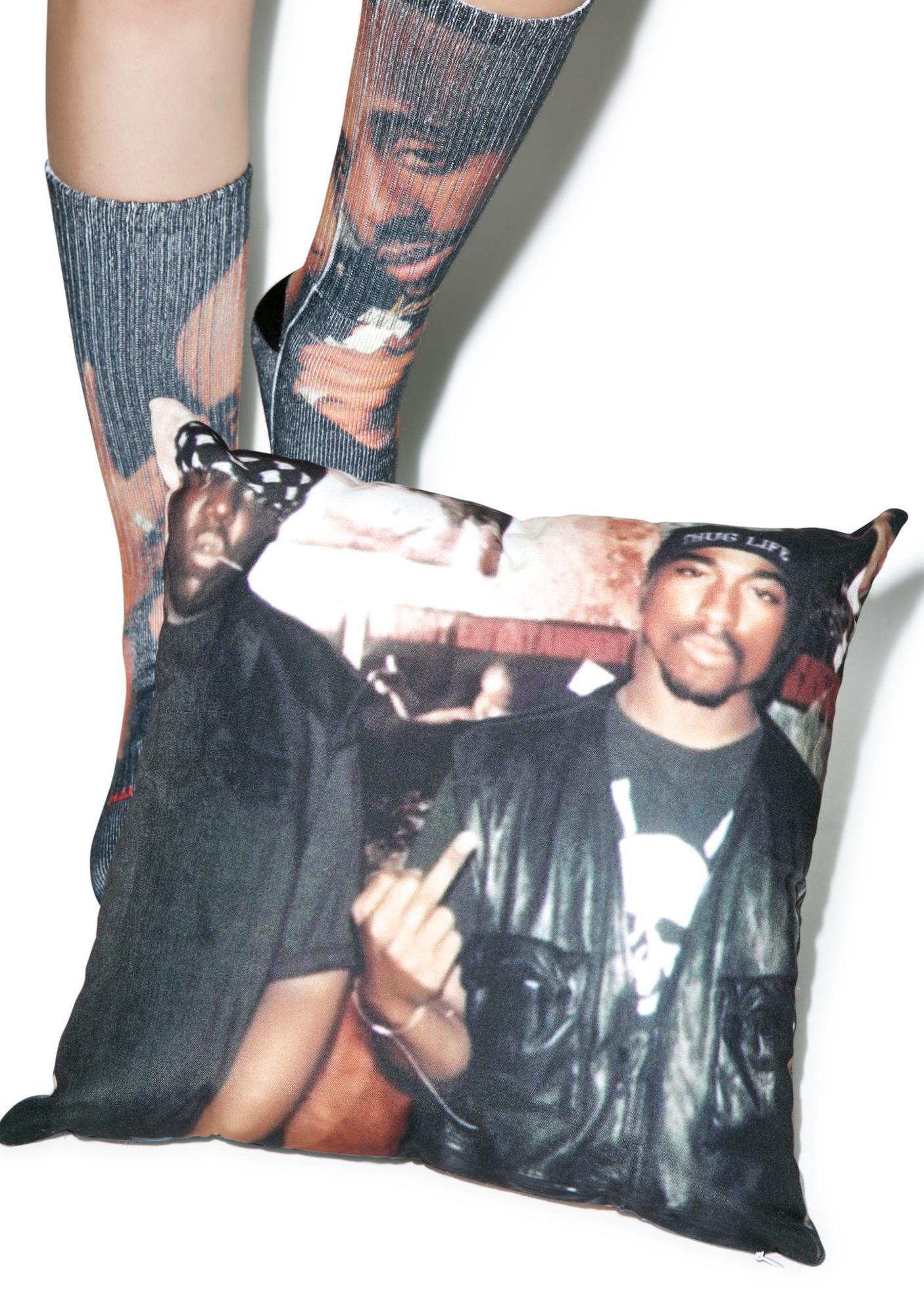East Coast vs. West Coast Pillow