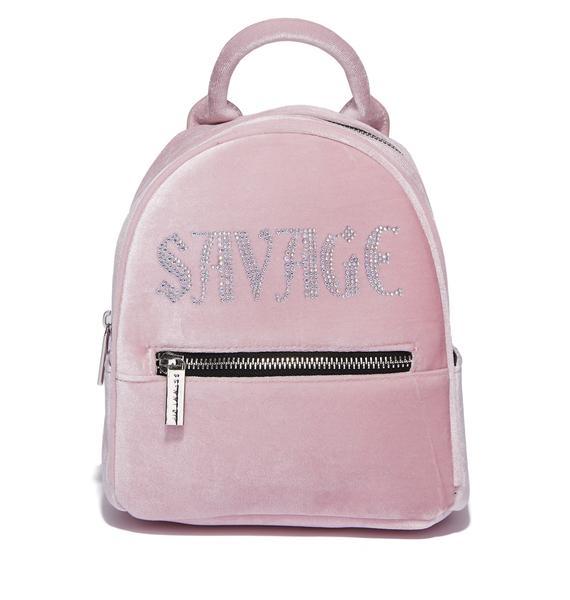 Skinnydip Savage Velvet Backpack