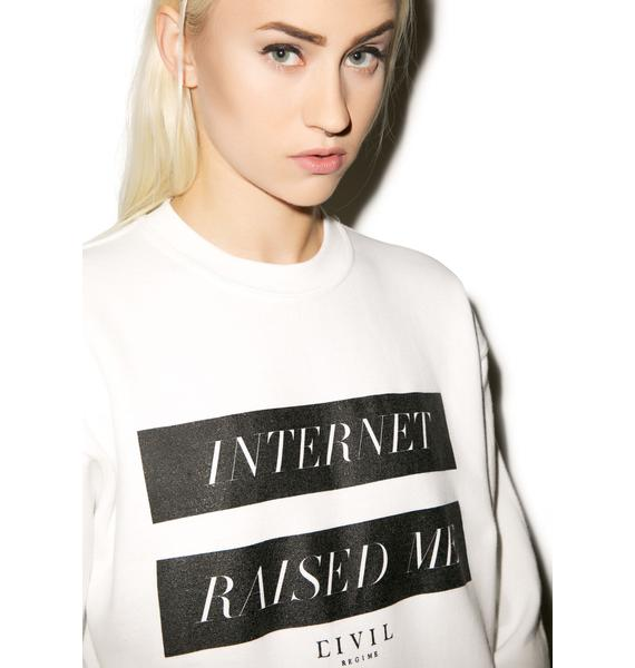 Civil Clothing Internet Crewneck