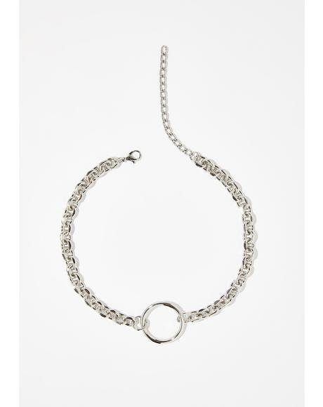 Lucky Chance O-Ring Necklace