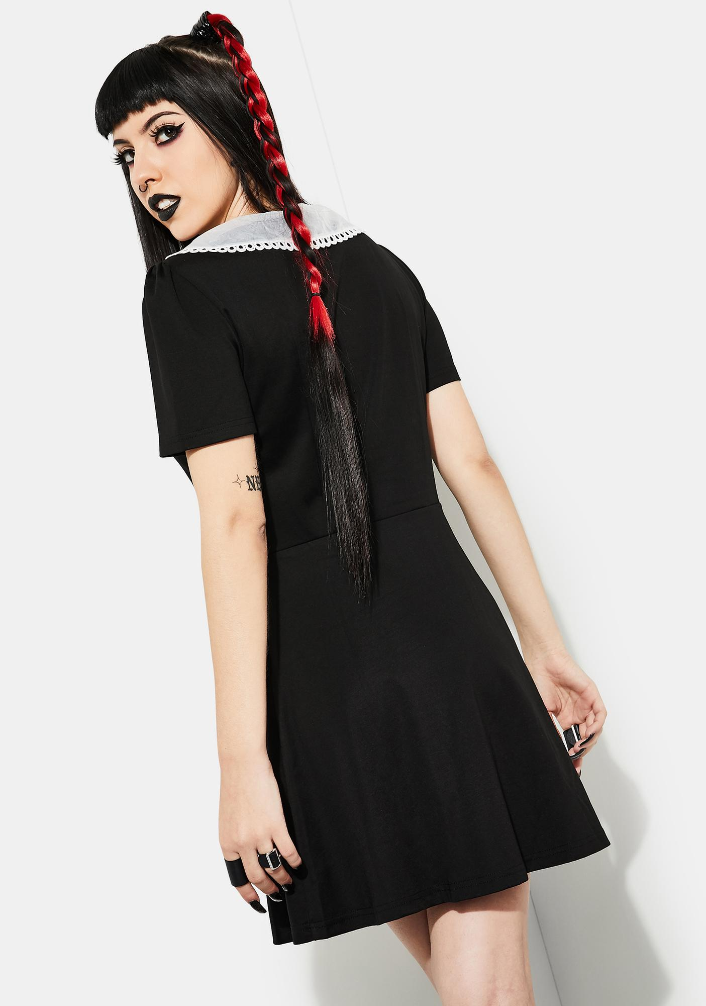 Current Mood Come Out Alive Skater Dress