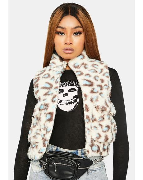 Give Me Love Faux Fur Vest