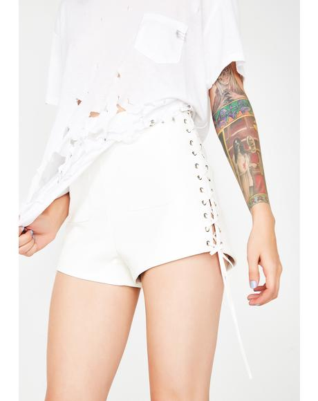 Skrt Skrt Lace-Up Shorts