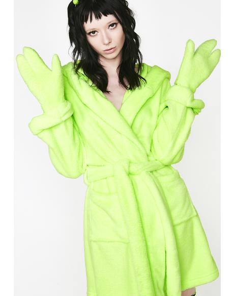 Exxtratrestrial Alien Robe