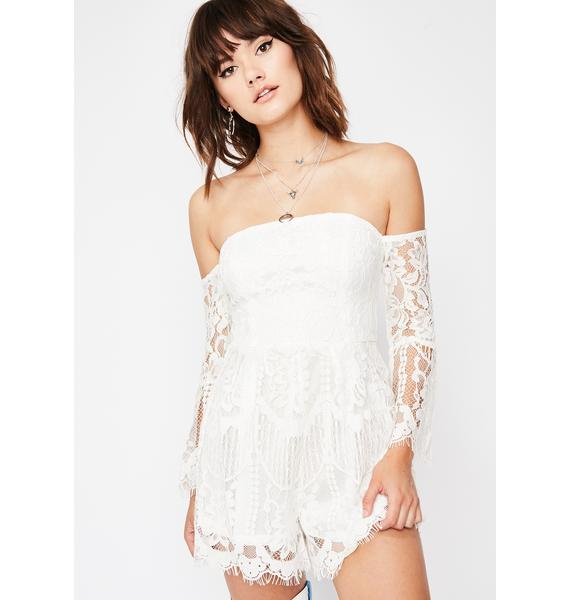 Cherry Pie Cutie Lace Romper