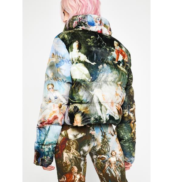 Current Mood Da Vinci's Demons Puffer Jacket