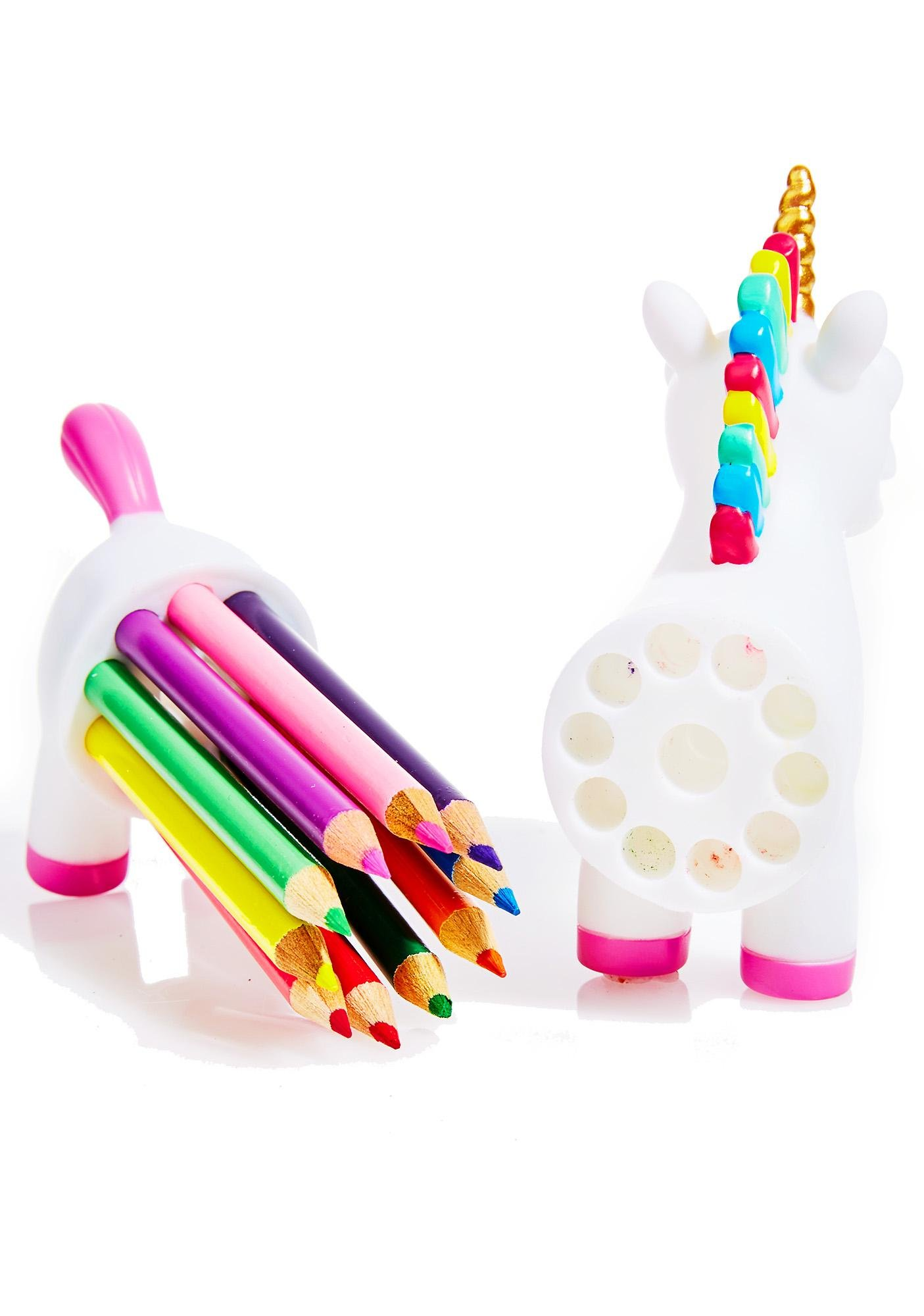 Unicorn Of Rainbow Pencils Set   Dolls Kill